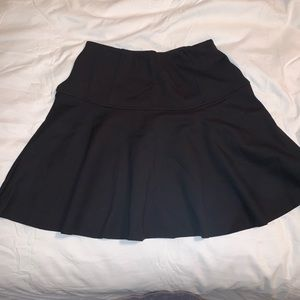 Free People black flare skirt